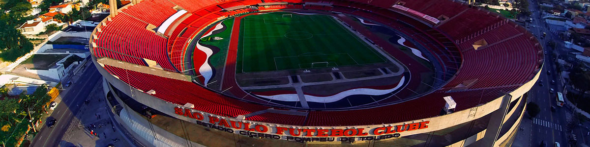 Vista do Estádio do Morumbi